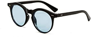 LUKEEXIN Unisex UV Protection Casual Sunglasses Outdoor Glasses (Color : Blue)
