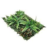 Pianta artificiale siepe, pannelli verdi adatti per uso esterno o interno, giardino, cortile e/o decorazioni per la casa, bosso - verde A (colore: Verde a)