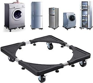 Base ajustable multifuncional móvil con ruedas para lavador