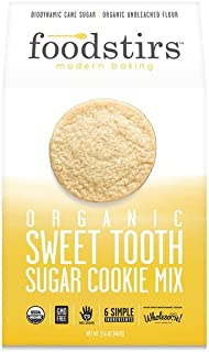 Foodstirs Organic Sweet Tooth Sugar Cookie Mix 15.6 Ounce