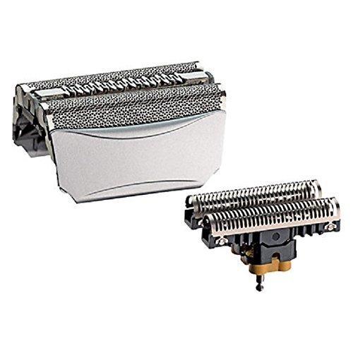 8000 360 Shaver Pantalla de aluminio completa / 51S Cutter Razor Blade Block Compatible para Braun Power Electronic Rotary Shaver Modelos 8995, 8985, 8975,