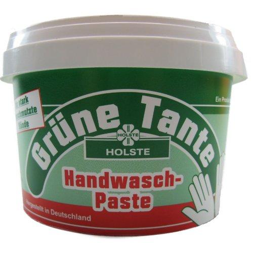 1 Liter = 2 Dosen Grüne Tante á 500ml - Handwaschpaste mit Quarzmehl - für stark verschmutzte Hände - Der altbewährte Klassiker !