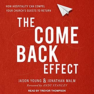 The Come Back Effect audiobook cover art