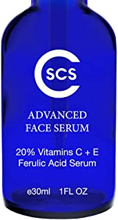 CSCS 20% Ferulic Acid Serum with Vitamin C + E - Antioxidant