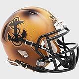 Riddell Navy Midshipmen Special 2019 Bowl Game Throwback Alternate Revolution Speed Mini Football Helmet