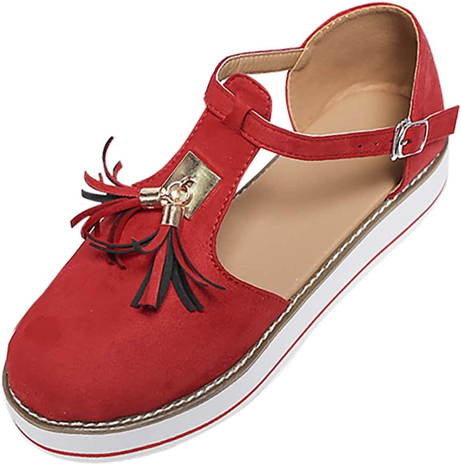 XUELIXIANG Ladies Flat Quality inspection Ranking TOP16 Sandals Dressy Hollo Tassel Summer Baotou
