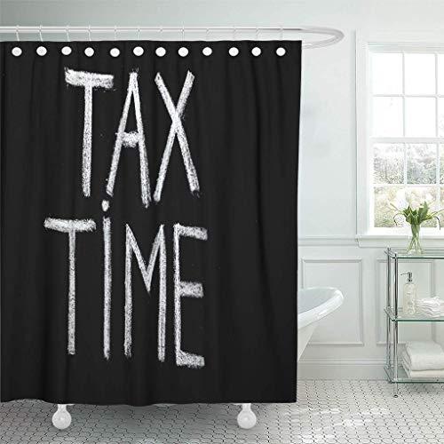 NA Wodoodporne tkaniny zasłony prysznicowe haczyki zwroty księgowe czas podatkowy na tablicę kredową księgowość czarna tablica bardzo długa łazienka bezzapachowa przyjazna dla środowiska