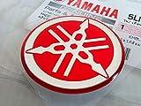 40mm Durchmesser Yamaha Stimmgabel Aufkleber Emblem Logo Erhöht Gewölbt Gel Harz Selbstklebend Motorrad Jet Ski /Atv / Schneemobil