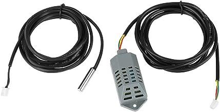 Jadpes Sensor de Temperatura de la incubadora, Sonda de Temperatura y Humedad de la incubadora, 2 Piezas/Juego Sonda de Sensor de Temperatura y Humedad de Alta precisión Accesori