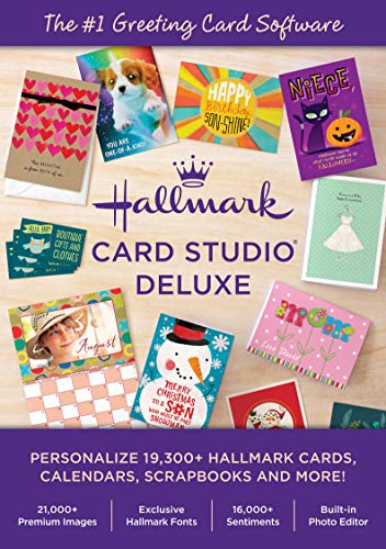Hallmark Card Studio Deluxe [PC Download]-- New Version