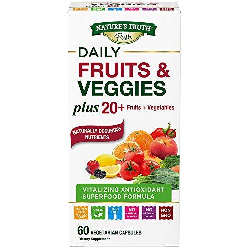 Nature's Truth Super Fruits & Veggies Capsules, 60 Count