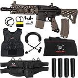 Maddog Tippmann TMC MAGFED Sergeant Paintball Gun Starter Package - Black/Tan