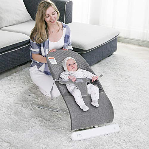 RONBEI Portable Baby Swing Bouncer