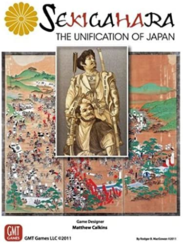 GMT  Sekigahara, the Unification of Japan by GMT Games