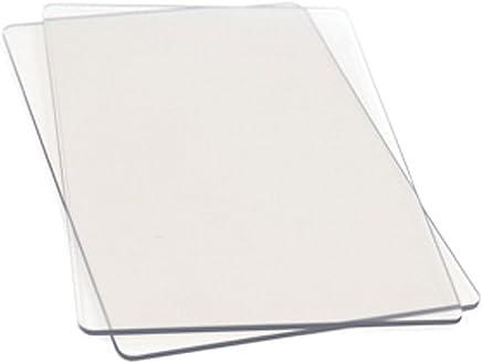 Sizzix 655093 Piani da Taglio Standard, 1 Paio, Plastico, 22.2 x 15.5 x 0.3 cm
