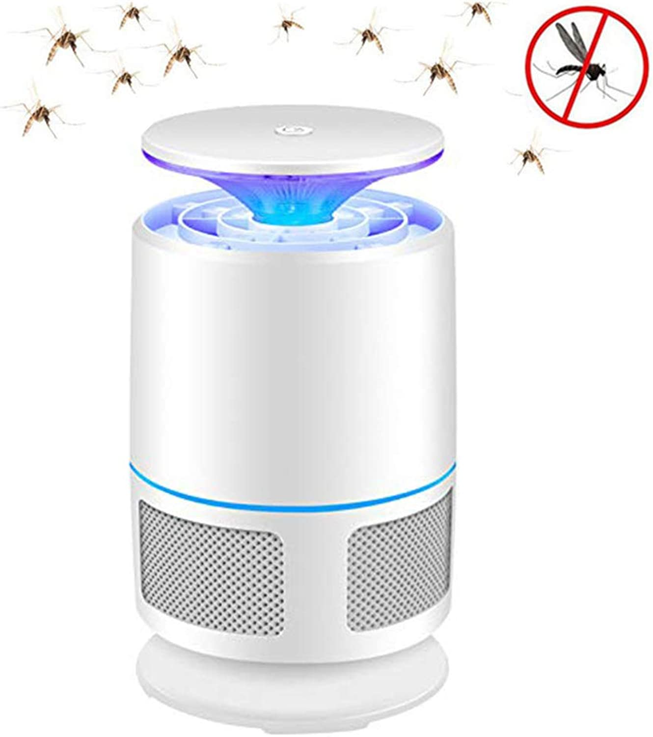 Bug Zapper,Electronic Mosquito Killer Lamp,UV LED Mosquitoes Catcher,USB Powered,ChemicalFree,UltraSilence,for Indoor and Camping
