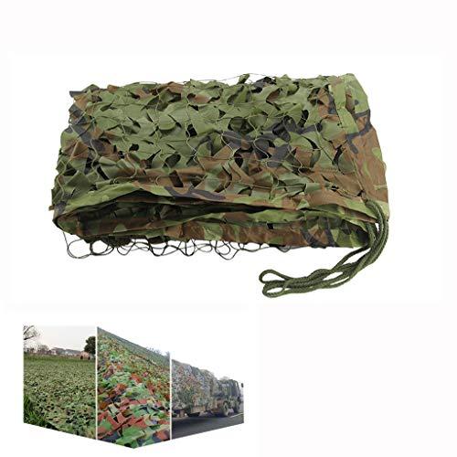 SZQ-Camouflage Net Camo Camouflage Net voor Camping Militaire Jacht Schieten Verbergen, Tuinfeest Boom Huizen Decoratie Zonnescherm Netto Waterdichte Camo Netting