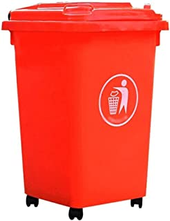 Reciclaje de residuos al aire libre al aire libre Cubos de basura Cubos de basura contenedores de basura Saneamiento Puede canastas reciclable reciclaje Cubo de basura de almacenamiento de contenedore