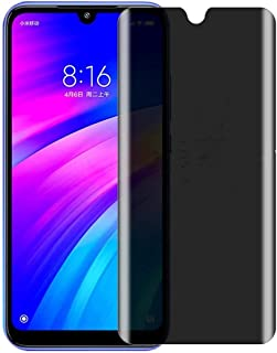 Flat Full Screen Anti-spy Tempered Glass For Xiaomi Redmi Note 7 / Note 7 Pro Privacy Screen Protector Cover Film 9H Hardn...