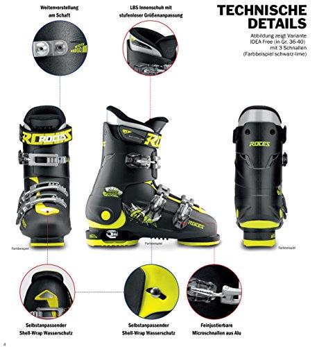 Roces Kinder Skischuhe Idea Up - 3