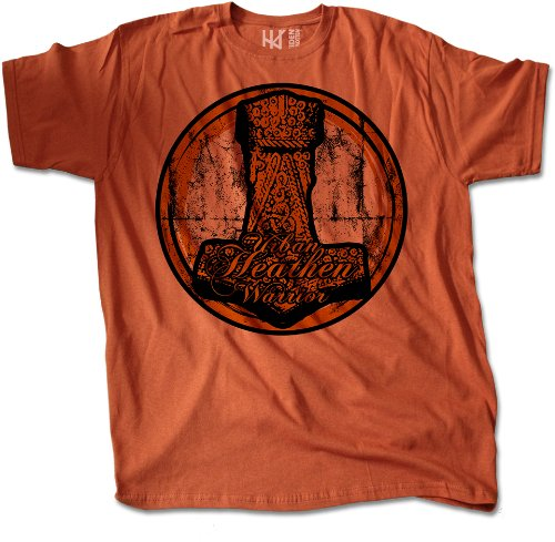 Heathen hammer) t-shirt (taille :  l-marke heidenklamotten/thors hammer