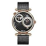 Reloj Impermeable para Hombre Relojes de Marca Delgado Reloj de Cuarzo de Malla para Hombres Masculino Reloj Hombre