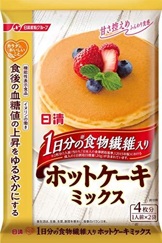 日清フーズ カラダに、おいしいこと。 1日分の食物繊維入り ホットケーキミックス 160g ×3袋
