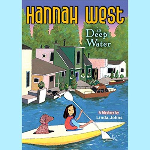Hannah West in Deep Water audiobook cover art