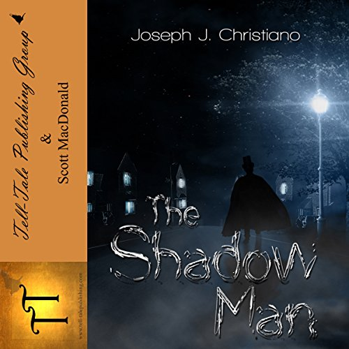 The Shadowman audiobook cover art