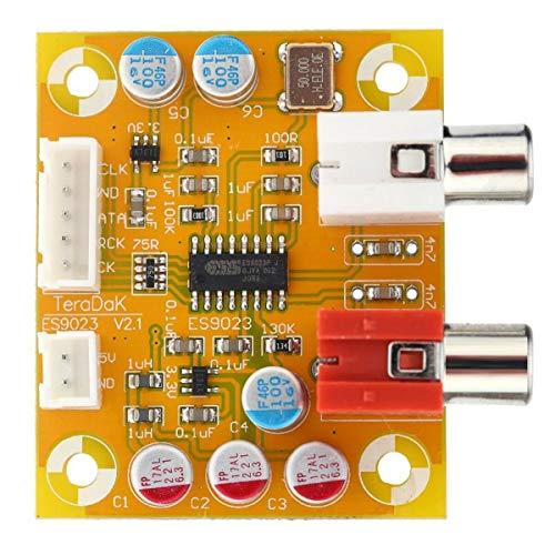 Tuneway Sabre Es9023 Analoges I2S 24 Bit 192 Khz Decoder Board Modul für Raspberry Pi