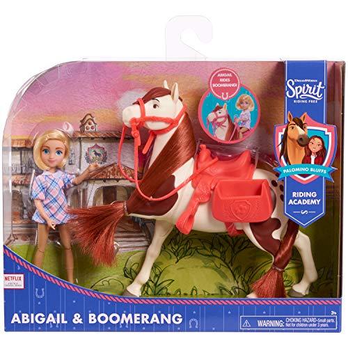 Spirit Small Doll & Horse- Abigail & Boomerang