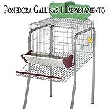 Suinga Bateria GALLINAS PONEDORAS 1 Departamento. Capacidad 5 gallinas. 56x70x95 cm....