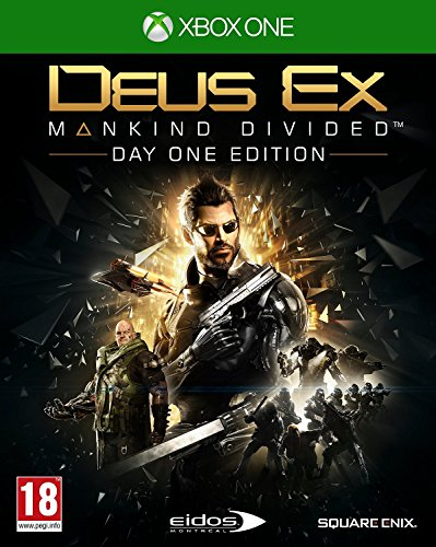 Deus Ex: Mankind Divided Day One Edition (Xbox One) UK IMPORT