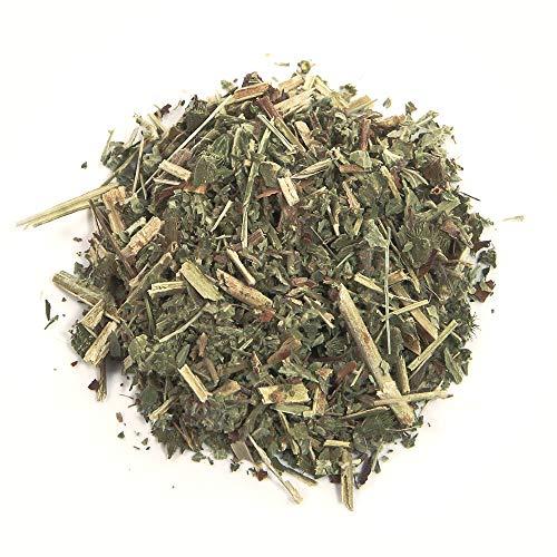 [Prime] Herbis Natura Odermennig Kraut geschnitten, aus biologischem Anbau, Agrimonia eupatoria (100 Gramm)