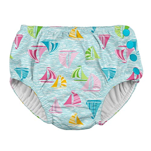 i play. 701050-6301-45 Schwimmwindel Aqua Sailboat 18-24 Monate, blau
