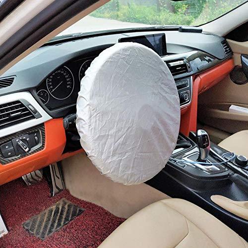 Parasol del coche, cubierta del volante Sombra del sol para vehículos utilitarios deportivos, camiones, furgonetas, para 38cm / 14.96in Cubierta del volante
