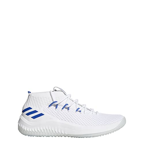 new arrival 1cb07 48cc8 adidas Dame 4 Shoe Mens Basketball White