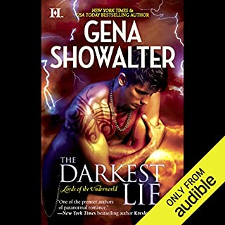 The Darkest Lie audiobook cover art
