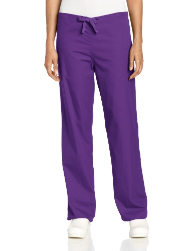 Gelscrubs Women's 1 Pocket Pant, Purple, X-Small