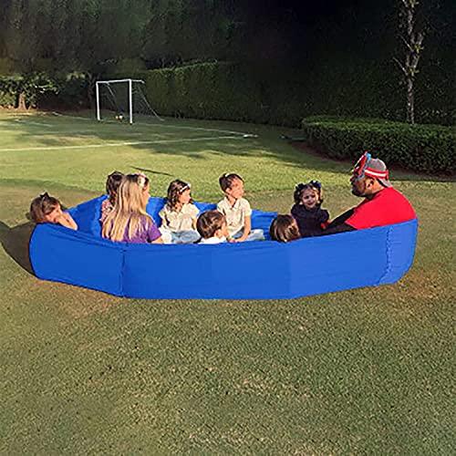 WXking Trainingsräder Tube - Outdoor Games Polyester und Spandex Slingshots, Große Kompression Stretchy Sensory Loop Team Work Training Spiele, Trust Building Spiele für Freunde Family Erwachsene Kind