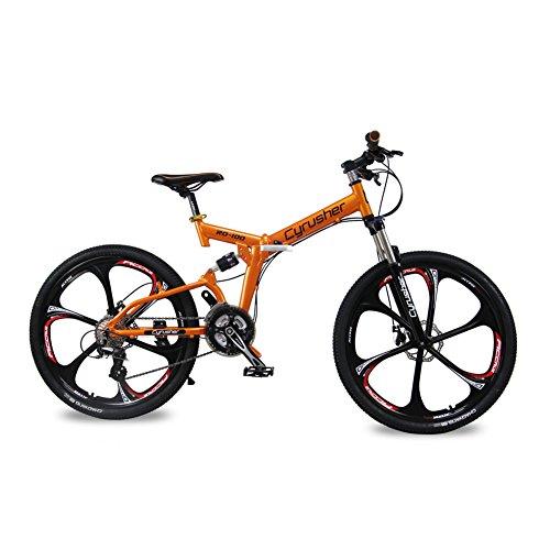 Cyrusher RD100 - Bicicleta (suspensión completa, cambio Shimano M310 ALTUS, 24 velocidades,...