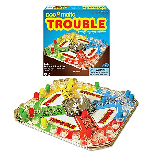 Winning Moves Games Classic Trouble Board Game, 1176
