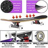 Zoom IMG-2 layenne skateboard completo professionale da