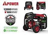 Photo #2: Portable Propane Generator model SUA12000ED by A-iPower with 12,000 Watts and  Dual Fuel Capability