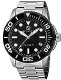 グッチ 腕時計 ダイバー ブラック文字盤 YA126279 メンズ 並行輸入品 シルバー