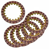 Caltric Clutch Friction Plate compatible with Yamaha Moto-4 80 Yfm80 Yfm-80 1985 1986 1987 1988 6 Plates