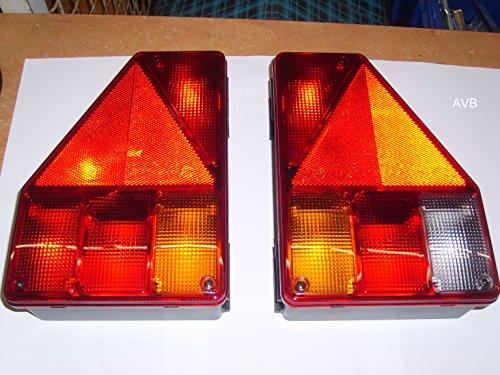 AVB Paket Aspöck Earpoint 1 Rückleuchte links und rechts mit RFS rechts