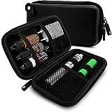 VapeHero Estuche para cigarrillo electrónico | Estuche vaporizador para líquidos y accesorios para el camino