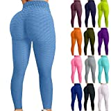 Famous TikTok Leggings, Yoga Pants for Women High Waist Tummy Control...