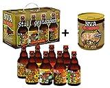 NVA Set 2! 8er Bier-Geschenkkarton NVA Teil 1 + NVA Feldsuppe